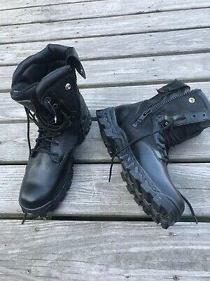824155a5535 ROCKY MENS BLACK Leather Goretex Work Northern Ops Chukka Boots ...