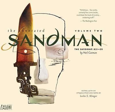 Annotated Sandman HC  Vol. 2: The Sandman #21-39 by Gaiman, Neil New and Sealed
