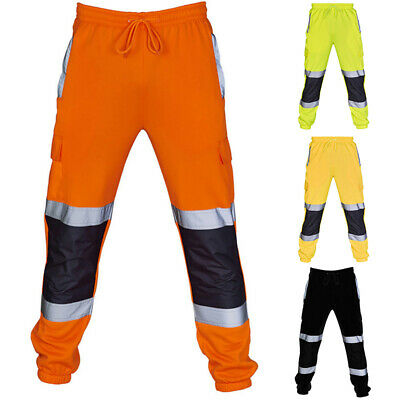 Work Pants Reflective Trousers Night Men's Clothes Stripe 2019 Spring Autumn