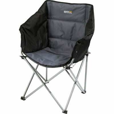 Regatta Kruza Director Style Steel Frame Foldable Camping Chair