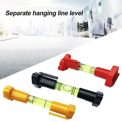 5 Piece Line Level Set Bubble String Vial Levels Block Work Brickwork Tools