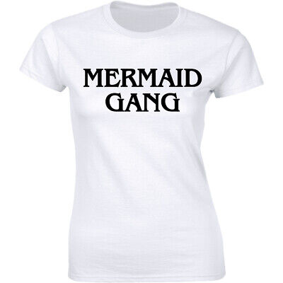 1703C Part Time Mermaid Adult/'s T-shirt Summer Fairy Party Tee for Men