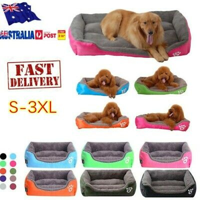 Extra Large Pet Dog Cat Bed Puppy Cushion House Soft Warm Kennel Dog Mat Blanket