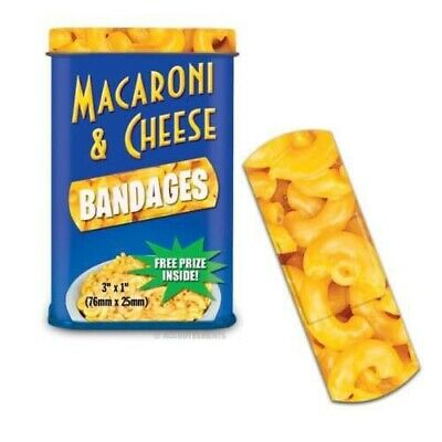 Bandage Band-aid Cheese Pasta Prank Gift Novelty Funny 15pcs Food Firstaid