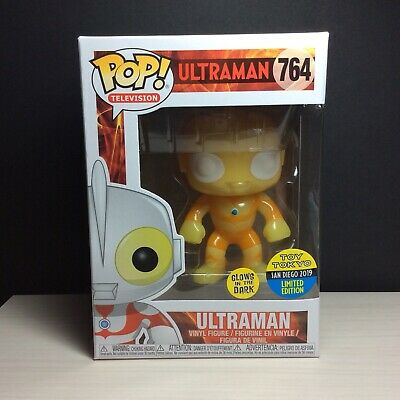🔥Funko Pop ULTRAMAN GID Toy Tokyo EXCLUSIVE 2019 SDCC Mint Free Protector 🔥