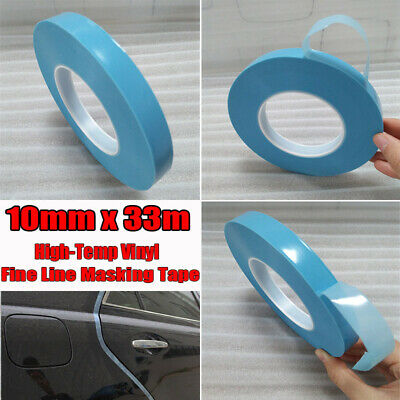 33M Roll High-Temp Fine Line Flat Paper Masking Tape For Automotive Car Painting