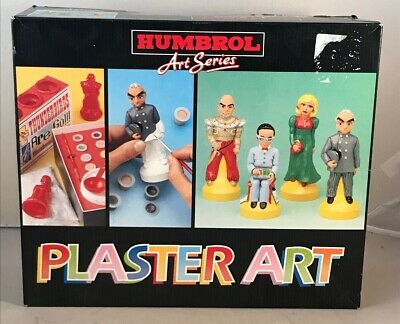 Rare Humbrol Plaster Art - Thunderbirds Figures - Moulding Set - Gerry Anderson