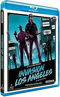 COFFRET - INVASION LOS ANGELES - BLURAY x 2 - Edition Fr - Neuf sous blister