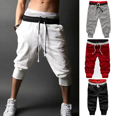 Men Long Casual Sport Pants Gym Slim Fit Trousers Running Joggers Gym Sweatpants