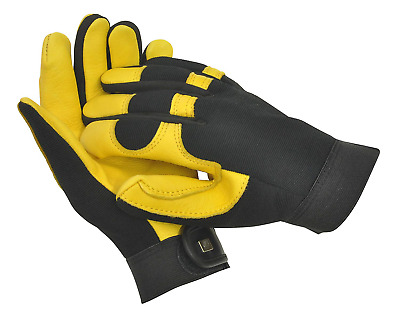 Gold Leaf Soft Touch Gloves - Ladies