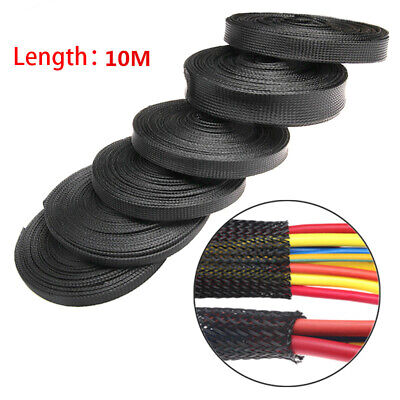 Cable Winder Nylon Braided Sleeve Cord Protector Storage Pipe Cable Organizer