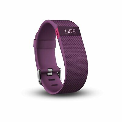 Fitbit Charge HR Heart Rate and Activity Wristband Purple (823824)