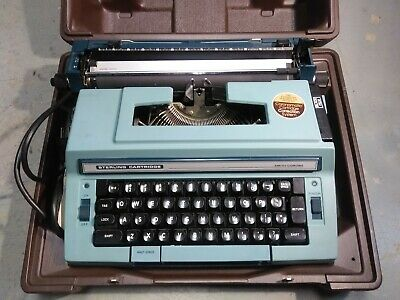 Smith Corona Model 3L Sterling Cartridge Electric Typewriter, With Case
