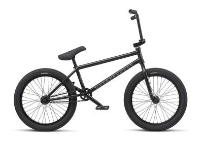 "We The People 2019 Trust Cs 21 Matte Black Complete Bmx Bike 21"" Bikes Matt"