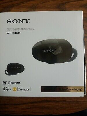 Sony WF-1000X/BM1 True Wireless Noise-Cancelling Earbuds with Built-In Mic