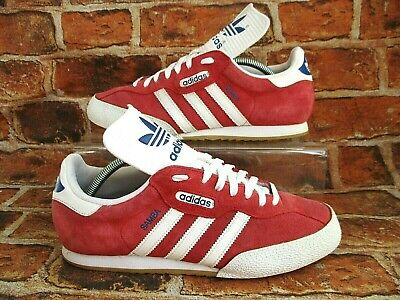 outlet for sale nice cheap for whole family ADIDAS SAMBA SUPER Originals Trainers Size 10.5 Red Suede ...