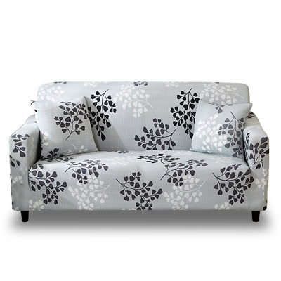 Fine Hotniu 1 Piece Stretch Sofa Couch Covers Pattern Fitted Pabps2019 Chair Design Images Pabps2019Com