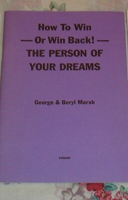 OCCULT FINBARR BOOK. How To Win Or Win Back! The Person Of Your Dreams - RITUALS