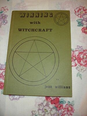 OCCULT FINBARR BOOK Winning with Witchcraft by Jean Williams - RITUALS, MAGICK