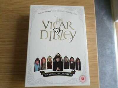 The Vicar Of Dibley  Ultimate Collection On  6 Discs. Dvd Box Set Free Post
