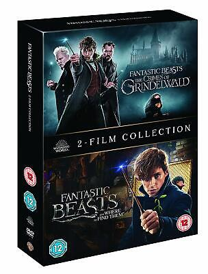 FANTASTIC BEASTS: 2-Film Collection 1-2. Free 1st Class P&P