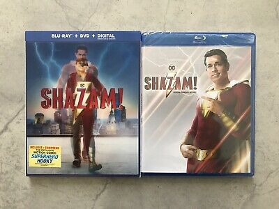 Shazam! (Blu-ray + DVD + Digital, Bilingual) *Lenticular Slipcover