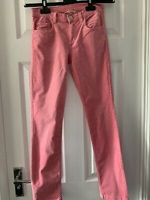 Pink Girls H&M Cords.  Size 158 Eur. Used VGC