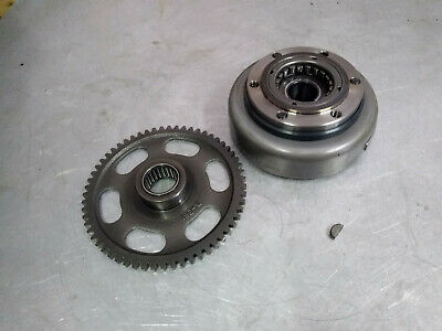SUZUKI LT 160 Quadrunner flywheel with starter clutch and gear
