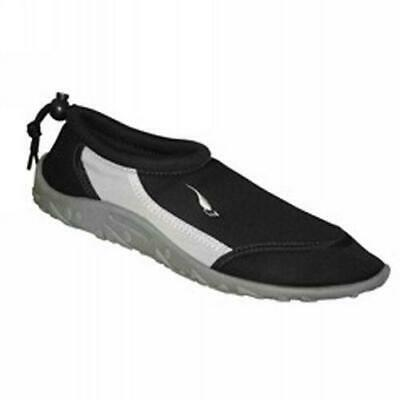 Aquashoe  Adult Beach Shoes Reef Black - Sizes UK8 Mens BNWT
