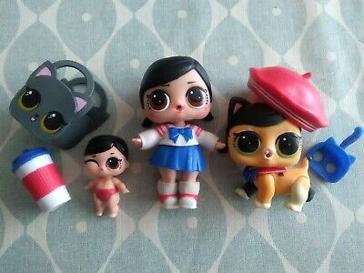 LOL Surprise Doll Big & Lil Sister Fanime with Pet