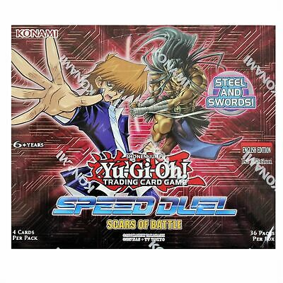 YU-GI-OH! Speed Duel: Scars of Battle Booster Pack Display Case