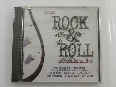 Various Artists : Classic Rock & Roll: Instrumental Hits, CD New Sealed