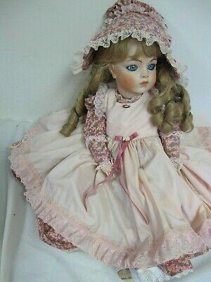 "Vintage Reproduction Doll Bru Jne Vernon Seeley 24 ""  John Line"
