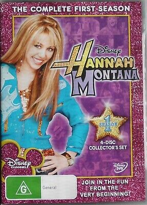 HANNAH MONTANA SEASON1 DVD Disney Channel TV series w/ Miley Cyrus