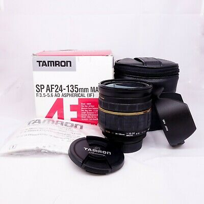 Tamron SP AF 24-135mm f/3.5-5.6 Macro IF AD Asph Zoom Lens for Nikon AF OPEN BOX