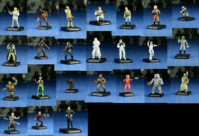 LOT OF 20 different Star Wars Miniatures Game figures *COMBINED