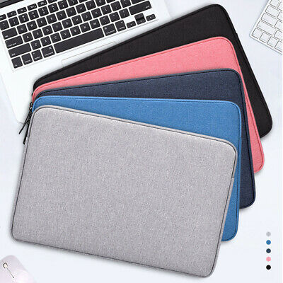 Notebook Case Sleeve Shockproof Soft Laptop Bag Cover 13.3/15.5'' For MacBook PC