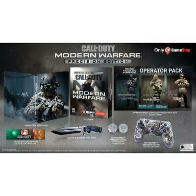 New Sealed Call Of Duty Modern Warfare Precision Edition Ps4 *Preorder Sold Out*