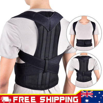 Posture Clavicle Corrector Support Back Straight Shoulders Brace Strap Correct