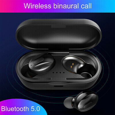 Bluetooth 5.0 Headset Mini TWS Wireless Earphone Earbuds Stereo In-Ear Headphone
