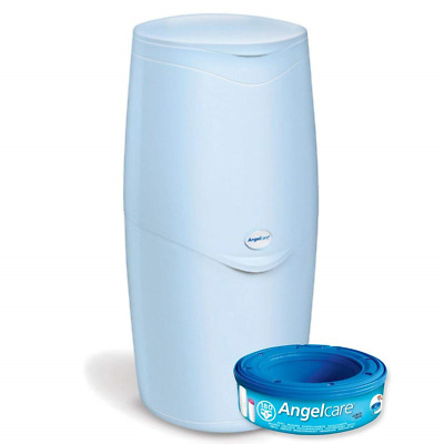 Angelcare Nappy Disposal System, Blue