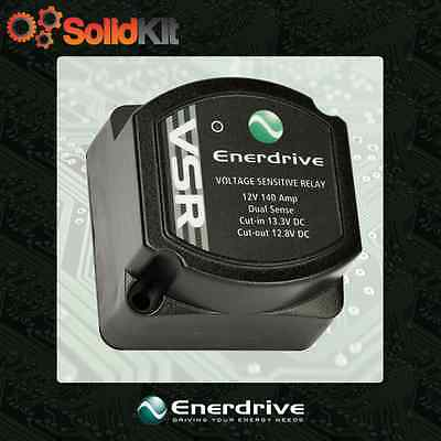 Enerdrive Voltage Sensing Relay EN61001 Dual Battery Solar Ready VSR AGM