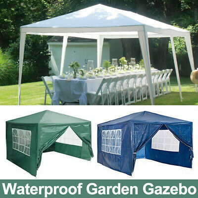 Heavy Duty Gazebo Waterproof Outdoor Garden Marquee Canopy Party Camp 3x 3/4/6m