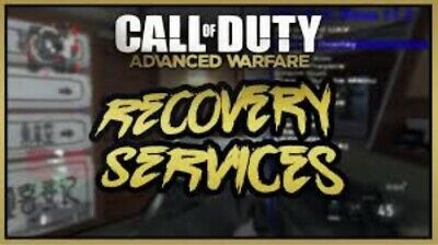 Advanced Warfare Recovery-UNLOCK EVERYTHING + MODDED CLASSES