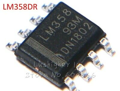 4X LM358 amplificatore operazionale SOP8  LM358DR   SMD