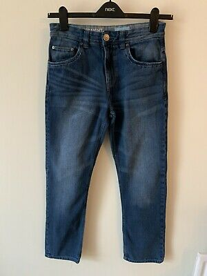 Boys Next Age 13 Jeans Blue Denim 12-13 Years