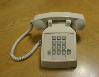 Vintage Touch Tone Phone Southwestern Bell FC 2500 Corded Landline Telephone