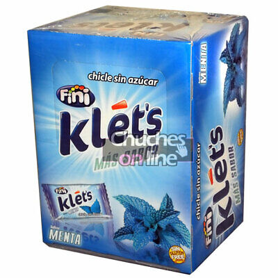 Chicle Klets Menta Estuche 200 Chicles