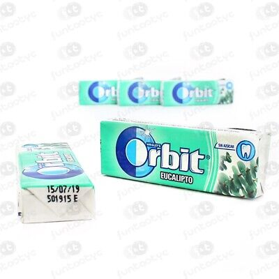 Chicles Orbit Gragea Eucalipto Estuche 30 Paq. De 10 Chicles