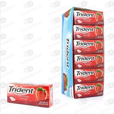 Chicles Trident Gragea Fruit Estuche 24 Paq. De Chicles